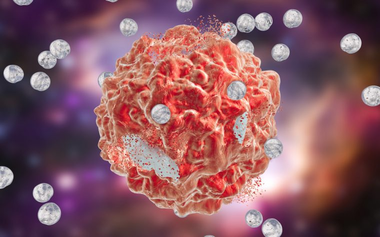 Liver cancer microspheres